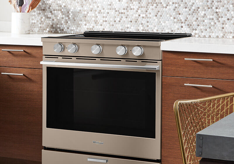 Sunset Bronze Electric Range